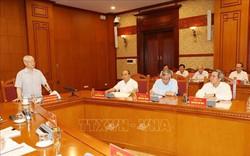 Hình ảnh Tổng Bí thư, Chủ tịch nước Nguyễn Phú Trọng chủ trì cuộc họp Tiểu ban Văn kiện Đại hội 13