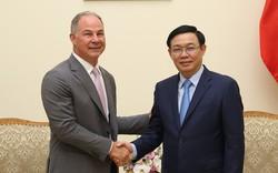 Phó Thủ tướng Vương Đình Huệ tiếp Tổng Giám đốc điều hành công ty năng lượng Hoa Kỳ