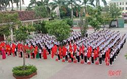 Hà Tĩnh: 260 trường học khai giảng năm học mới cùng lễ chào cờ đầu tuần của năm học mới