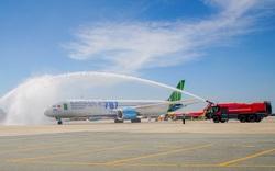 Bamboo Airways chính thức khai thác chuyến bay thương mại đầu tiên bằng Boeing 787-9 Dreamliner