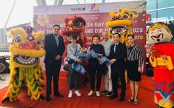Chuyến bay đầu tiên năm 2020 đến Đà Nẵng mang hàng trăm hành khách từ các quốc gia khu vực châu Âu, Trung Đông