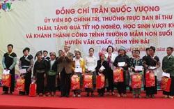 Lãnh đạo Đảng, Nhà nước thăm, tặng quà Tết các hộ nghèo, gia đình chính sách