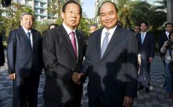 Thủ tướng Chính phủ Nguyễn Xuân Phúc tiếp Tổng thư ký Đảng Dân chủ Tự do Nhật Bản, Chủ tịch Liên minh Nghị sỹ hữu nghị Nhật – Việt