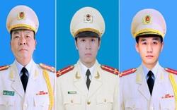 Bộ Công an tổ chức tang lễ ba cán bộ, chiến sĩ hy sinh tại Đồng Tâm