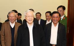 Hình ảnh Tổng Bí thư, Chủ tịch nước Nguyễn Phú Trọng chủ trì phiên họp về phòng chống tham nhũng