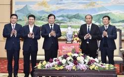 Chúc Tết tỉnh Vĩnh Phúc, Phó Thủ tướng yêu cầu tập trung vào mục tiêu thu hút đầu tư