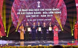 Giải Búa liềm vàng năm 2019 vinh danh 57 tác phẩm báo chí xuất sắc