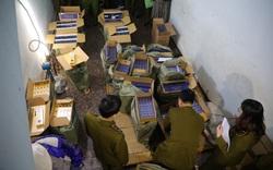 Hà Nội: Quản lý thị trường tóm gọn 15.000 bao 3 số có dấu hiệu nhập lậu