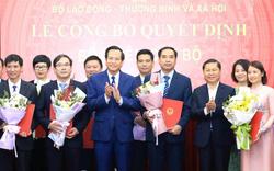 Nhân sự mới Văn phòng Chính phủ, Bộ LĐ-TBXH, Bộ và Ngân hàng Nhà nước