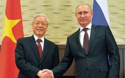 Lãnh đạo Đảng, Nhà nước gửi Điện mừng kỷ niệm 70 năm quan hệ ngoại giao Việt - Nga