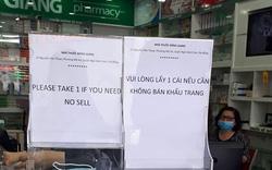 """Giữa """"bão giá"""" khẩu trang, đại diện một nhà thuốc ở Đà Nẵng có chia sẻ ấm lòng"""