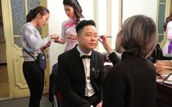 Dàn nghệ sĩ, diễn viên hào hứng chuẩn bị trước giờ diễn chương trình