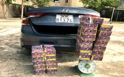 Kon Tum: Truy tìm tài xế bỏ lại ô tô để trốn vì chở pháo lậu