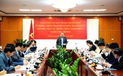 Phó Thủ tướng Thường trực Trương Hòa Bình kiểm tra công tác phòng chống tham nhũng tại Ban Cán sự Đảng Bộ Công Thương