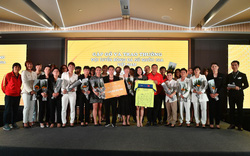 Bắt gặp các cầu thủ tuyển bóng đá nữ Việt Nam du ngoạn ở Ha Long