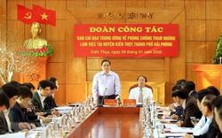 Trưởng ban Tổ chức Trung ương Phạm Minh Chính: Làm tốt công tác cán bộ để hạn chế tham nhũng