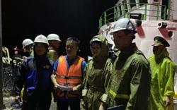 Đà Nẵng: Sóng đánh chìm 4 tàu cá, 2 người mất tích