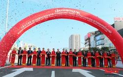Thông xe cầu cạn Mai Dịch - Nam Thăng Long, giảm áp lực giao thông của ngõ phía phía Tây của Thủ đô Hà Nội