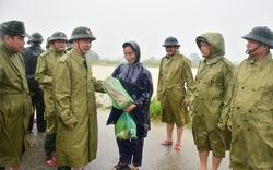 Quân khu 4 thành lập Sở chỉ huy tiền phương ứng phó mưa lũ
