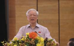 Tổng Bí thư: Làm cán bộ Hà Nội phải bản lĩnh, trí tuệ, đặc biệt phải đoàn kết, huy động được sức dân