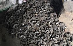 Thu giữ hàng trăm phụ tùng xe máy giả mạo nhãn hiệu YAMAHA