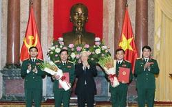 Thăng quân hàm Thượng tướng cho hai Trung tướng Quân đội