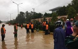 Quảng Trị: Sập nhà trong mưa lũ khiến 2 mẹ con thương vong