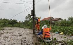 EVNCPC: Đã cấp điện trở lại cho gần 47.000 khách hàng ở 5 tỉnh, thành miền Trung