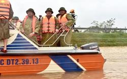 Thị sát Hồ Kẻ Gỗ, Phó Thủ tướng Trịnh Đình Dũng: Tập trung bảo vệ tính mạng, tài sản của người dân