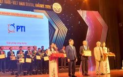 PTI vinh dự nhận giải Doanh nghiệp Chuyển đổi số xuất sắc