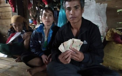 Phát hiện 10 triệu đồng trong áo quần cứu trợ, một hộ nghèo tìm chủ nhân để trả