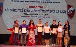 6 Huy chương Vàng được trao tại Cuộc thi Tài năng diễn viên Tuồng và Dân ca kịch toàn quốc 2020