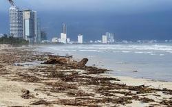 Bờ biển Đà Nẵng rác thải tràn ngập sau bão Molave