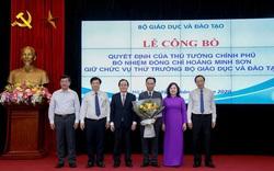 Bộ GDĐT công bố Quyết định bổ nhiệm Thứ trưởng Hoàng Minh Sơn