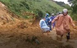 Kinh hoàng sạt lở đất tại Bắc Trà My, 1 người bị thương, 1 người mất tích