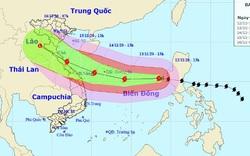 Đà Nẵng và Quảng Nam phát công điện khẩn ứng phó với bão số 13