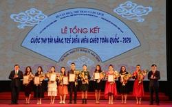 10 giải Vàng được trao tại Cuộc thi tài năng trẻ sân khấu Chèo chuyên nghiệp toàn quốc – 2020