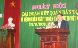 Thứ trưởng Nguyễn Văn Hùng tham dự Ngày hội Đại đoàn kết toàn dân tộc