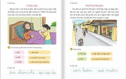 Bổ sung, điều chỉnh ngữ liệu của SGK Tiếng Việt lớp 1 Cánh Diều: thay