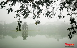 Sáng nay, sương mù dày đặc bao trùm Thủ đô Hà Nội