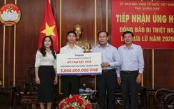 Thaco hỗ trợ xây dựng lại ngôi làng cho đồng bào Trà Leng