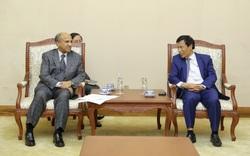 Bộ trưởng Nguyễn Ngọc Thiện tiếp xã giao các đại sứ