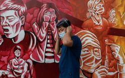 Vòng quanh thế giới: Khi nghệ thuật đường phố lấy cảm hứng từ Covid-19