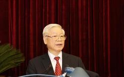 Tổng Bí thư đề nghị đại biểu nêu cao tinh thần trách nhiệm, tập trung nghiên cứu kỹ tờ trình, các tài liệu liên quan tới nhân sự khóa XIII