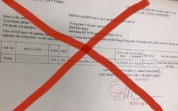 Xử phạt hai người đăng tải kết quả xét nghiệm SARS-CoV-2 không đúng sự thật