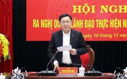 Bí thư Hà Nội yêu cầu thực hiện nghiêm chủ trương không tổ chức đi thăm, chúc Tết cấp trên