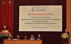 Công bố hơn 140 nghiên cứu trong nước và quốc tế về ngôn ngữ Việt