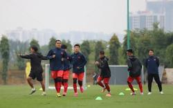 """Hậu vệ Dụng Quang Nho: """"Cố gắng giành 1 trận thắng trước đội tuyển Quốc gia"""""""