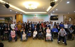 64 đại biểu người khuyết tật tham dự chương trình Tỏa sáng nghị lực Việt