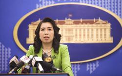 Việt Nam lên tiếng phản đối Đài Loan bắn đạn thật ở đảo Ba Bình